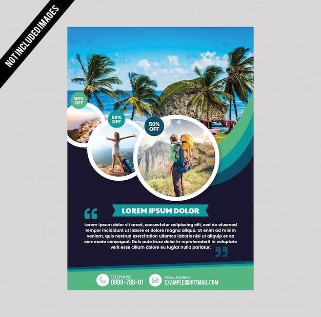 Panfleto de viagem