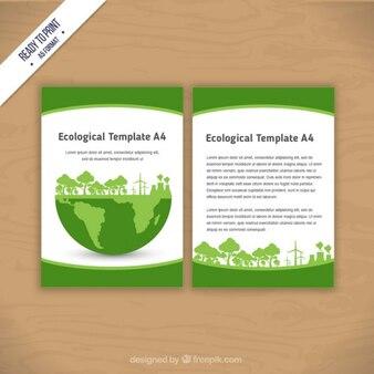 Panfleto ecológico
