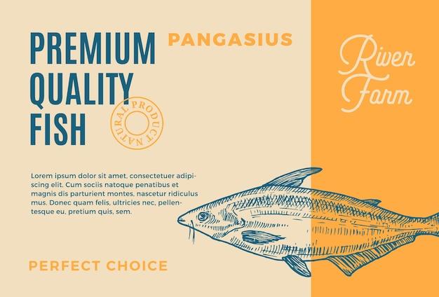 Pangasius bocourti de qualidade premium