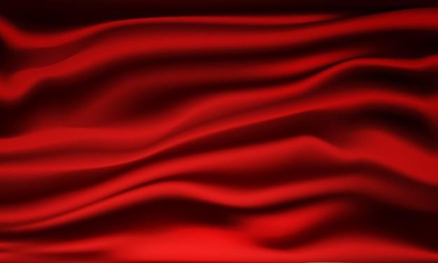 Pano vermelho abstrato.