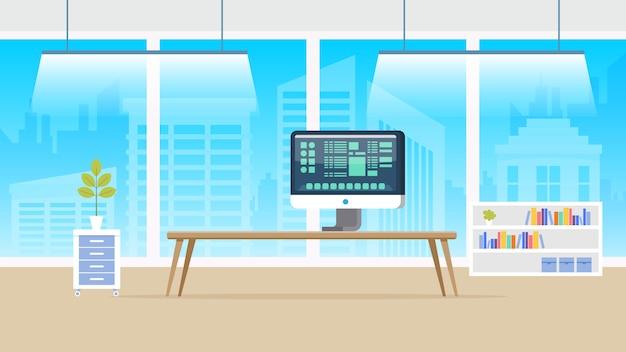 Panorama de laboratório de computador