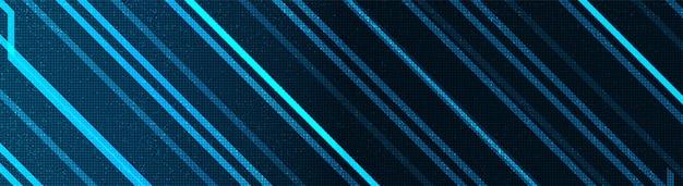 Panorama de tecnologia eletrônica, digital hi-tech e segurança