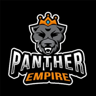 Panther empire esport logotipo