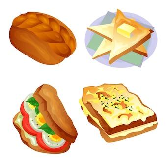 Pão e torradas