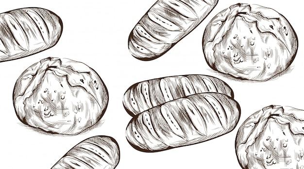 Pão lineart