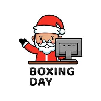 Papai noel no boxing day