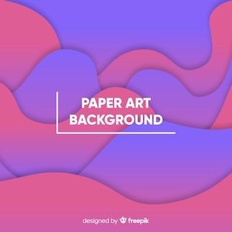 Papel arte backgound