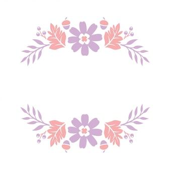 Papel de monograma floral cortar arquivos
