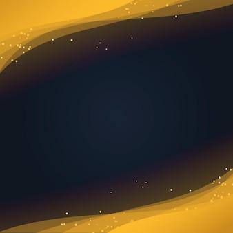 Papel de parede abstrato com partículas de glitter dourados decorativos