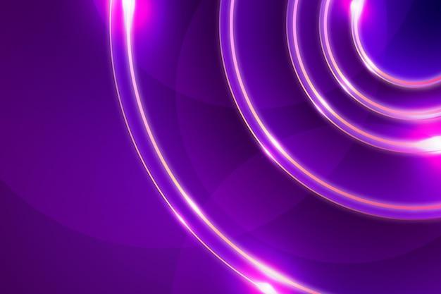 Papel de parede abstrato de luzes de néon
