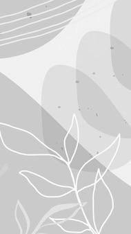 Papel de parede abstrato do celular de memphis
