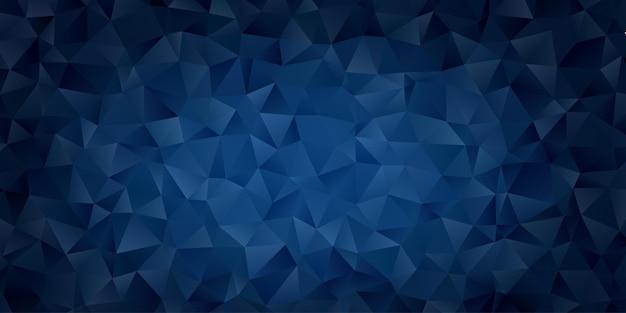 Papel de parede abstrato geométrico do fundo do polígono. polly baixa em forma de triângulo