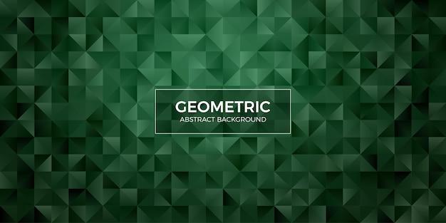 Papel de parede abstrato geométrico do fundo do polígono. tampa do cabeçalho com forma de triângulo baixo polly