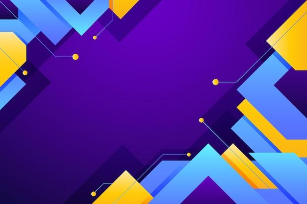 Papel de parede abstrato gradiente colorido