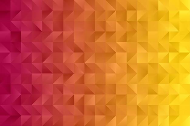 Papel de parede abstrato. vetor premium de hexágono de polígono triângulo colorido