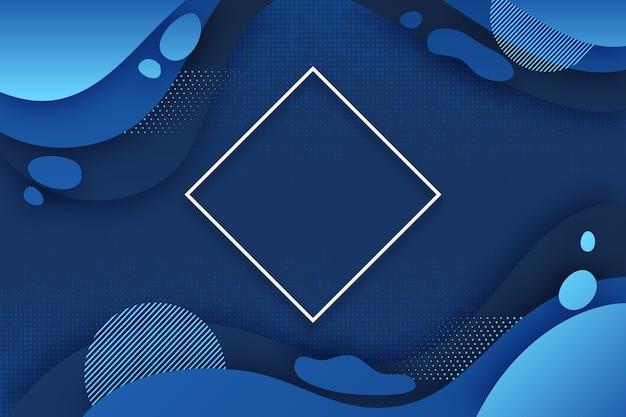 Papel de parede azul clássico abstrato