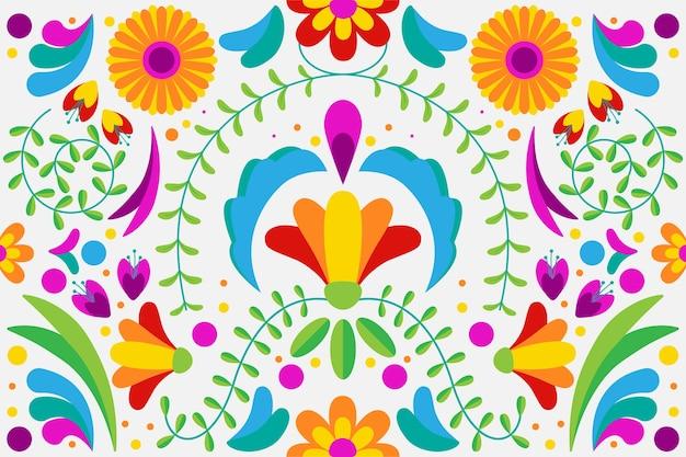 Papel de parede colorido mexicano
