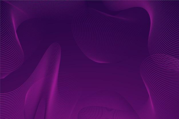 Papel de parede com conceito de onda escura