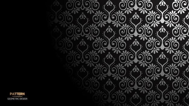 Papel de parede com padrão de mandala. fundo para yoga, meditação poster