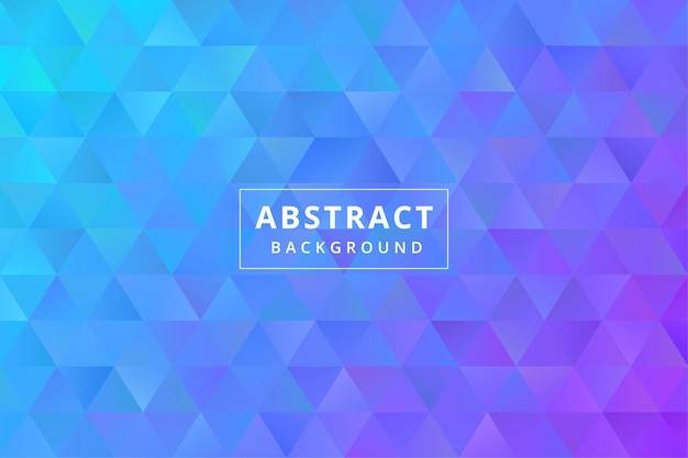 Papel de parede de fundo colorido abstrato com formato de polígono poligonal de triângulo premium vector