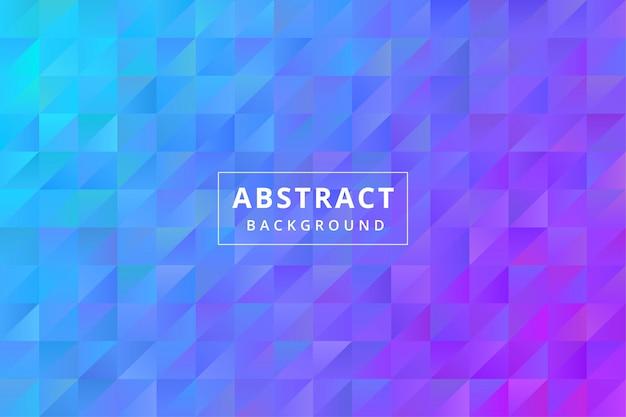 Papel de parede de fundo colorido abstrato com vetor premium de forma poligonal de polígono