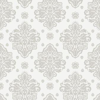 Papel de parede de fundo de ilustração oriental de crânio de flor