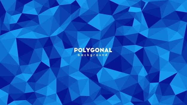 Papel de parede de fundo poligonal