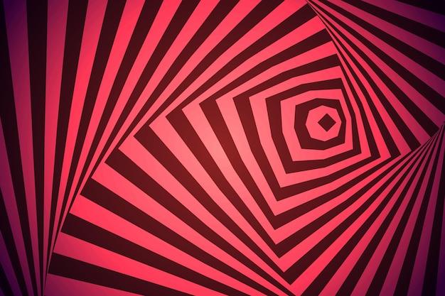 Papel de parede de ilusão de ótica psicodélica