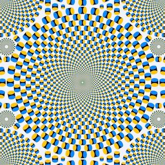 Papel de parede de ilusão psicodélica