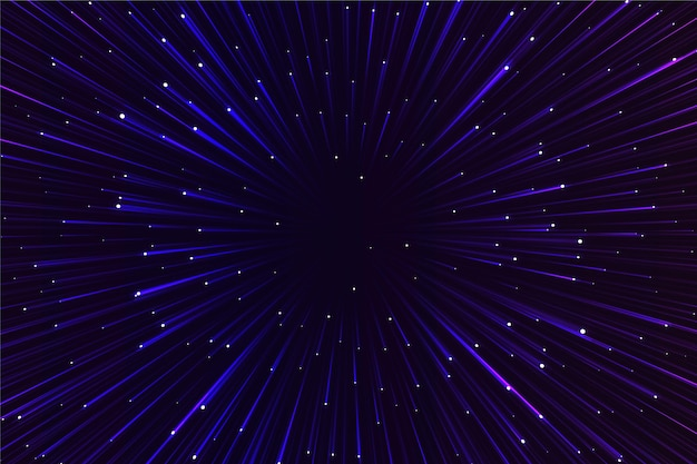 Papel de parede de luzes brilhantes de velocidade