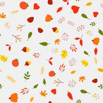 Papel de parede de outono, têxtil, decoração, textura, floresta, impressão, padrão