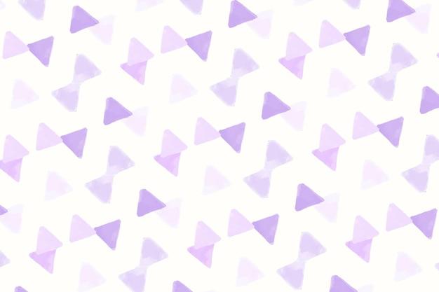 Papel de parede de padrão sem emenda em forma de triângulo roxo