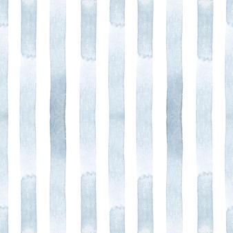 Papel de parede de padrão sem emenda listrado de azul claro