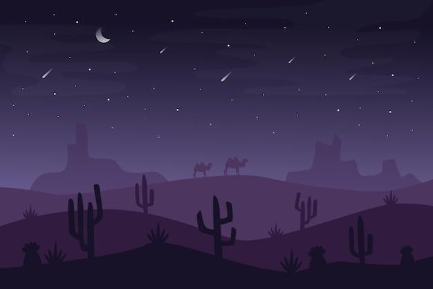 Papel de parede de paisagem do deserto para videoconferência