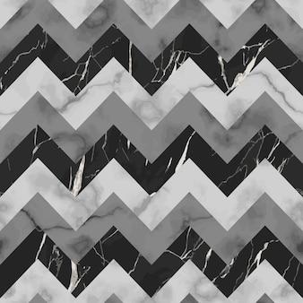 Papel de parede de repetição de listras em zigue-zague de mármore sem costura para tecidos e estampas de interiores