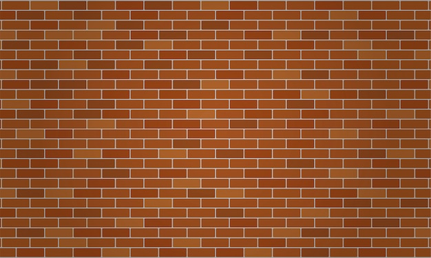 Papel de parede de tijolo marrom ou laranja e fundo de textura.