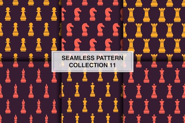 Papel de parede decorativo de coleção de padrões sem emenda