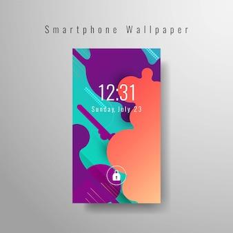 Papel de parede elegante abstrato para smartphone