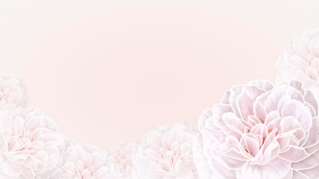Papel de parede floral em flor