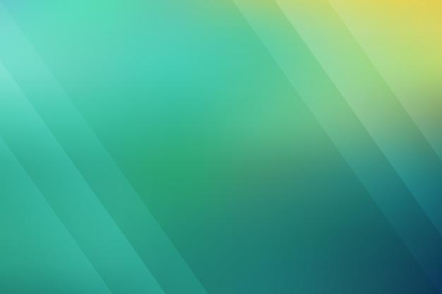 Papel de parede gradiente com tons de verde
