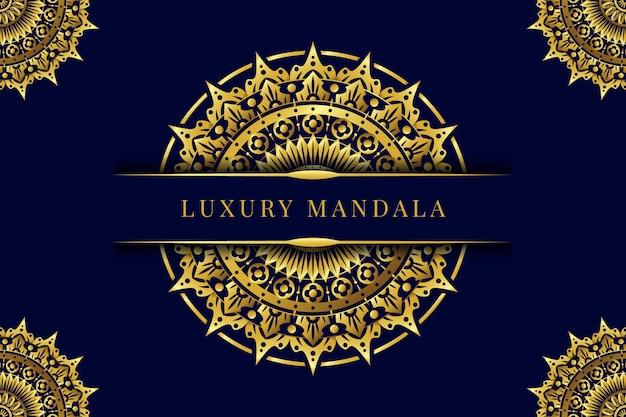 Papel de parede mandala de luxo