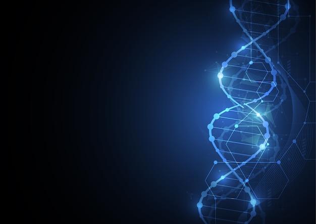Papel de parede modelo de ciência