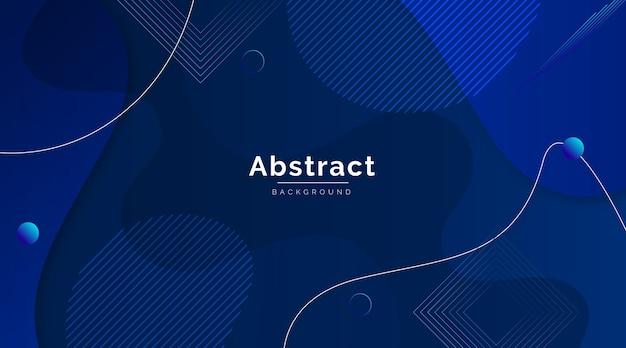 Papel de parede moderno azul clássico abstrato