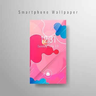 Papel de parede moderno smartphone