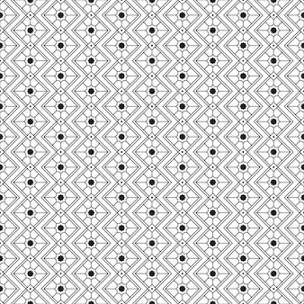 Papel de parede plano de fundo geométrico tribal padrão sem emenda
