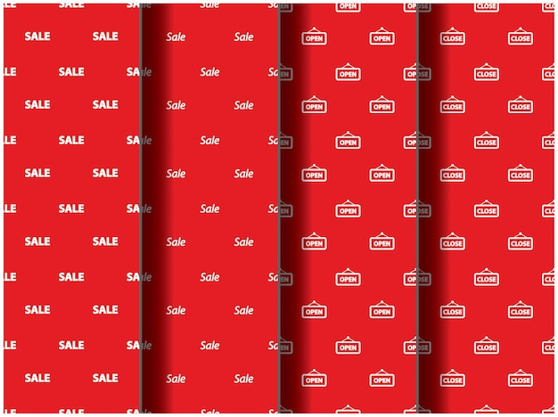 Papel de parede plano de fundo padrão modelo ícone festa desenho animado cartaz panfleto temporada paleta desconto de venda