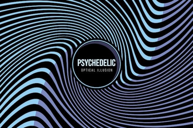 Papel de parede psicodélico