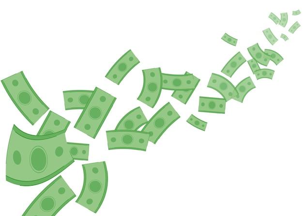 Papel-moeda voador