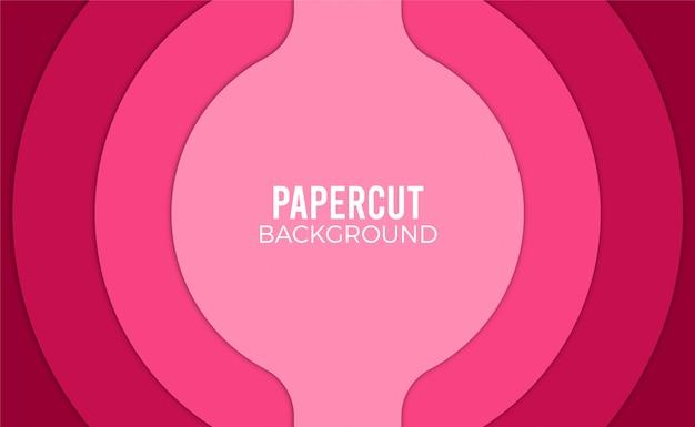 Papel rosa corta o fundo.