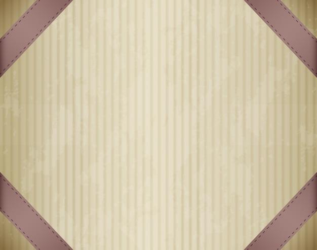 Papelão emoldurado